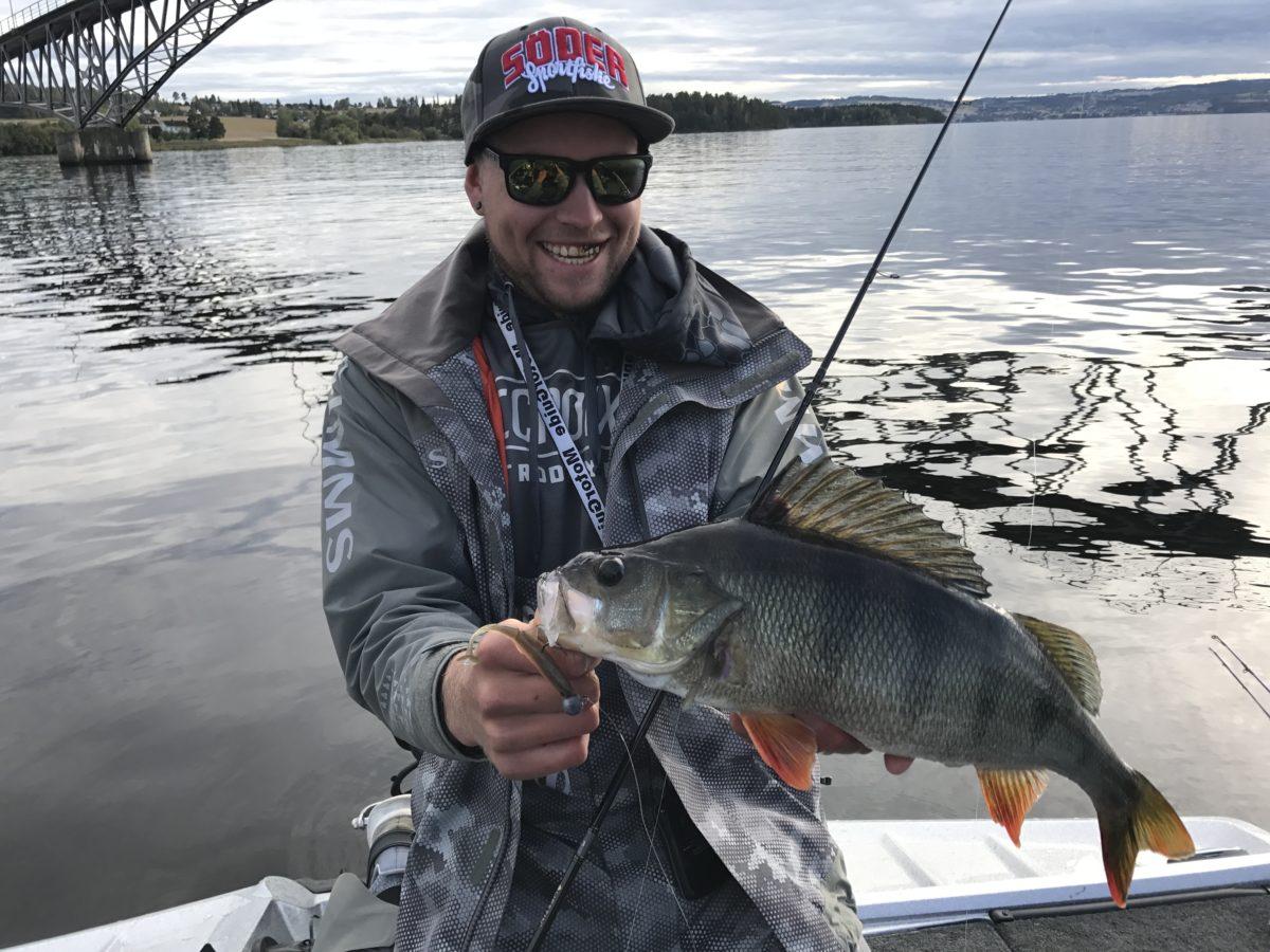 Evensen jakter årets predatorfisker.