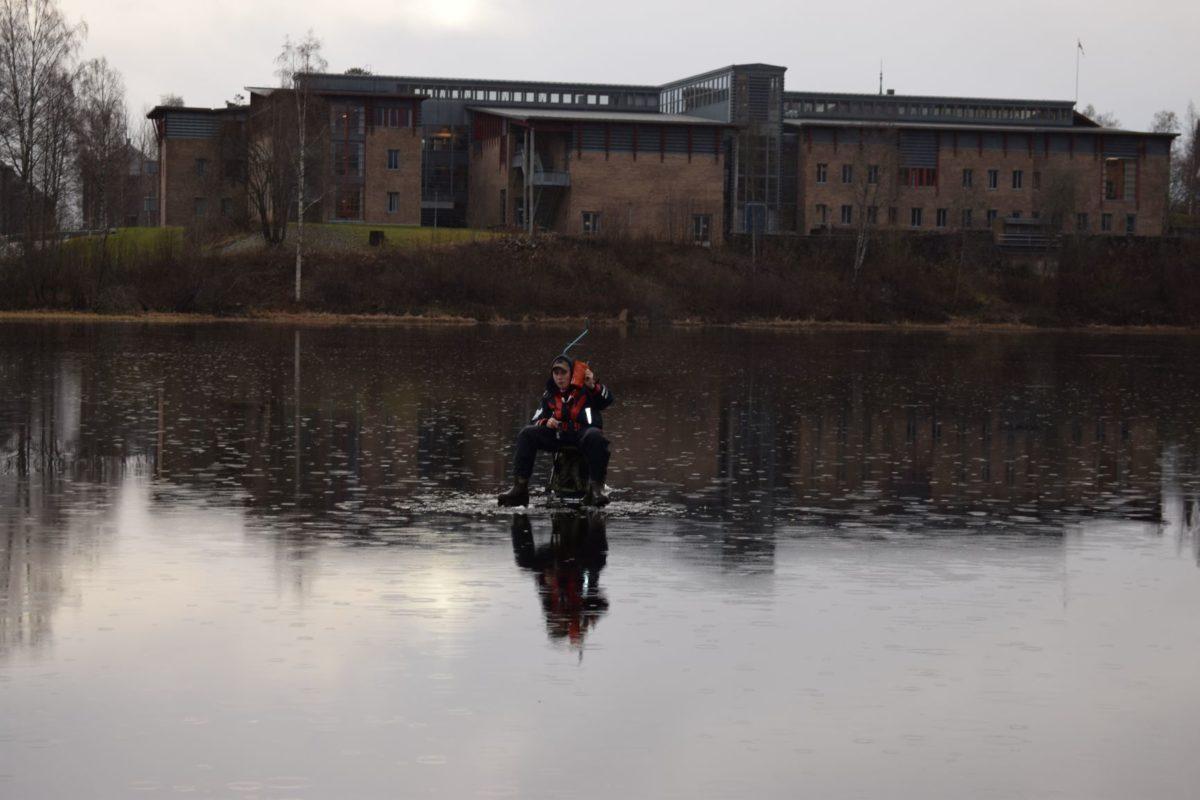 Isfiskesesongen har for fullt startet.
