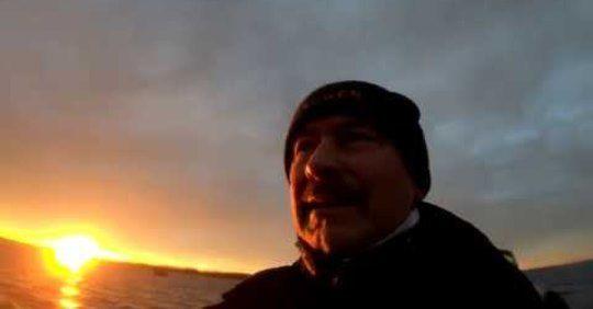 Rügen Fishing Dec -19. Med hull och hår Rockabilly Fishing