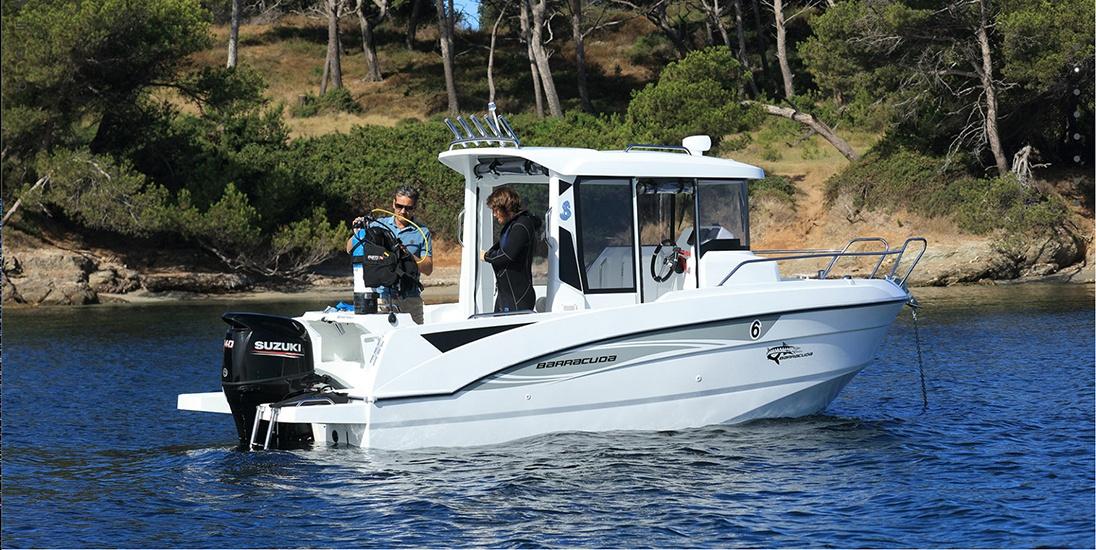 """Ny"" Barracuda 6 til salgs."