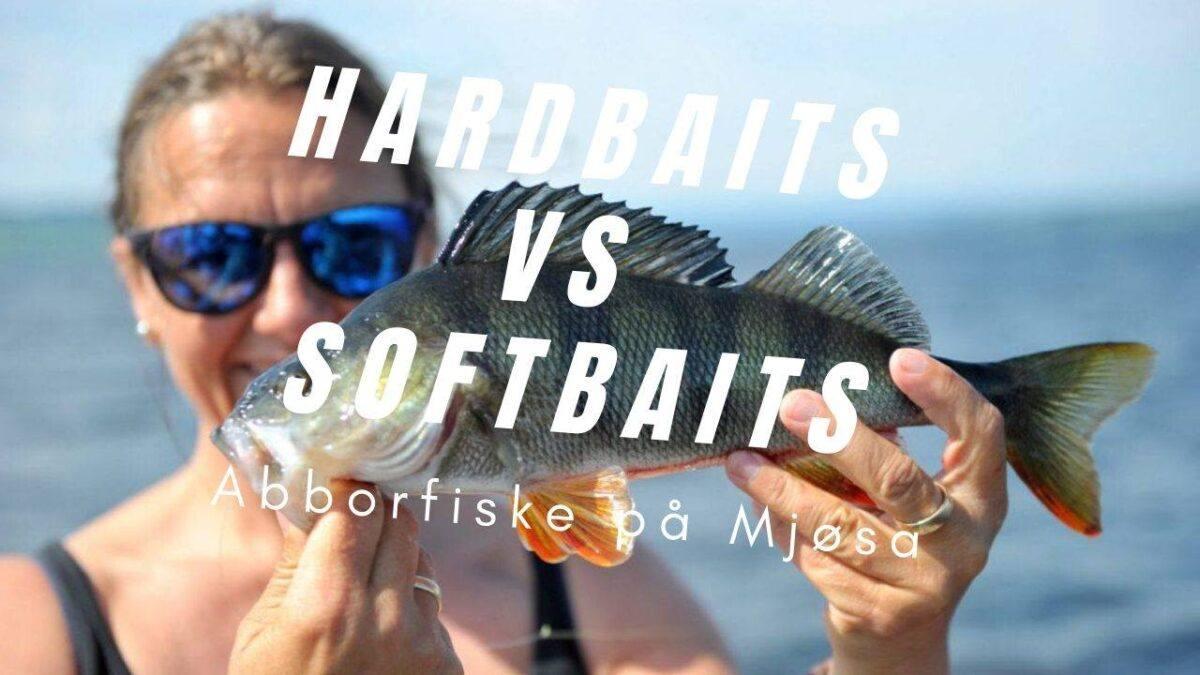 Hardbaits VS Softbaits (Abborfiske på Mjøsa)