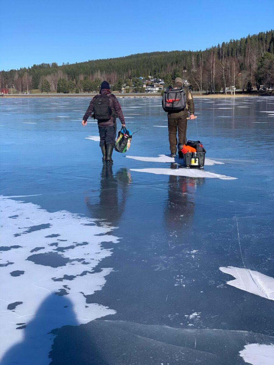 Ny isfisketur med Jaktia Kongsvinger (med Video)